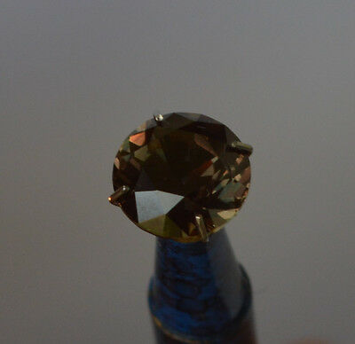 Sapphire Purple Green 3.72 ct Colour Change Natural Earth Mined Certified