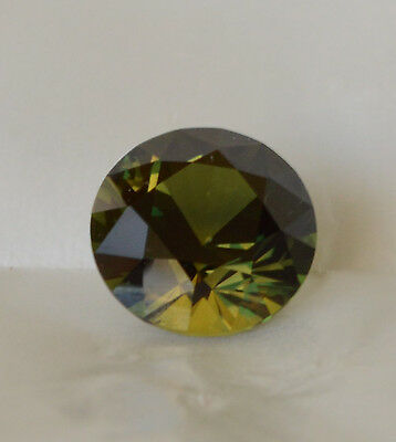 Sapphire 7.60 ct Yellow Green Parti Colour Natural Earth Mined Certified