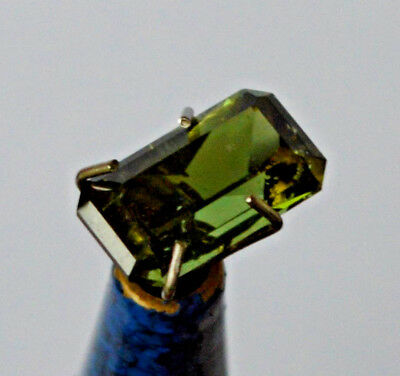 Tourmaline Mid Green Natural Earth Mined Certified 1.532 ct South African