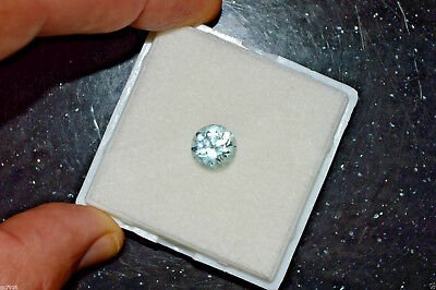 AQUAMARINE Natural Very Pale Greenish Blue 3.82 ct Pakistan Certificate