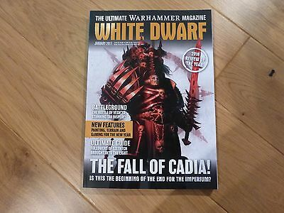 White Dwarf January 2017 - Features The Fall of Cadia + 2016 Review of the Year