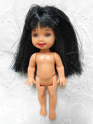 """Kelly & Friends 4"""" Doll with Black Hair    #309"""