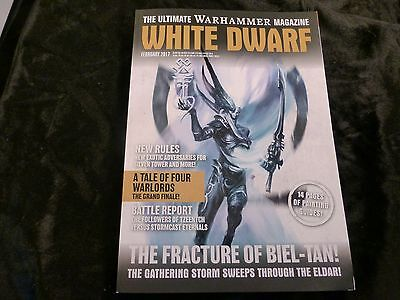 White Dwarf February 2017 - Features Eldar Biel-Tan + Pages of Painting Guides !