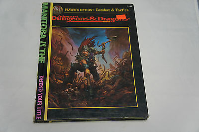 Advanced Dungeons and Dragons Players Option Combat and Tactics