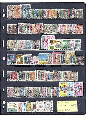 IRAQ...# 1//RA14...1923/75...Nice Collection of 118 Different...Mint & Used