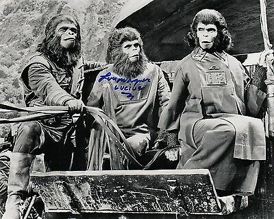 OFFICIAL WEBSITE Lou Wagner as Lucius PLANET of the APES 8x10 AUTOGRAPHED