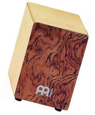 Drum Box Percussion Cajon Birch Bubinga Front Body Panel Gift Personalised Wood