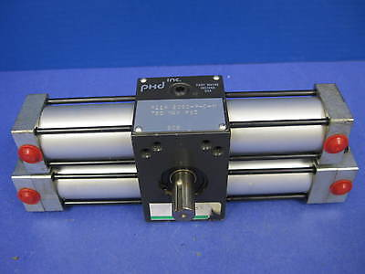 "PHD R11A 2090-P-D-M  Tandum Hydraulic Rotary Actuator, 1"" Bore, Used"