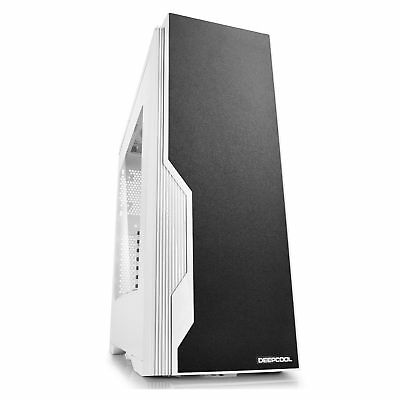 DeepCool Black & White Dukase V2 Mid Tower Chassis USB 3.0 PC Case Tower