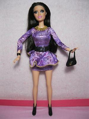 Barbie Doll TALKIN TALKING Raquelle jointed wrist ROOT EYELASHES Life Dreamhouse