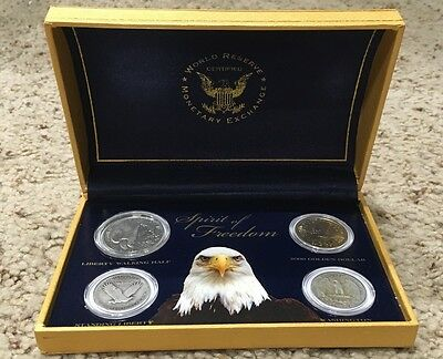 World Reserve Monetary Exchange Spirit of Freedom Coin Set