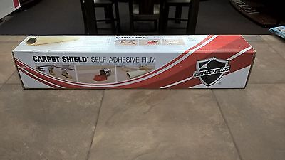 SURFACE SHIELDS  Carpet Self-Stick Plastic Carpet Protection 2' x 200'