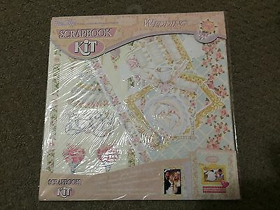 Scrapbook Kit -  Wedding  *new Sealed In Packet*