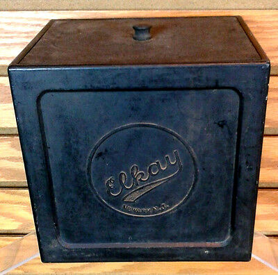 Vintage Elkay Box Photography Developing Bakelite Old Antique Black