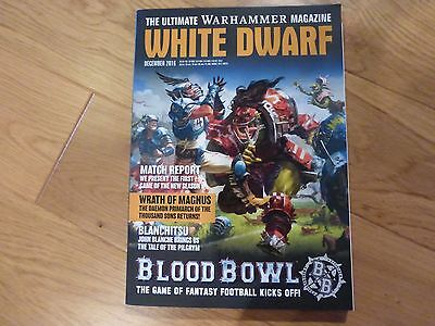 White Dwarf December 2016 - Features The New Release of Blood Bowl !!