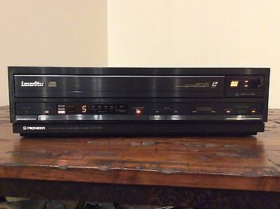 Pioneer Cld1010 Laserdisc/ Cdv/ Cd Player  Excellent!!!!