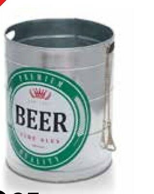 Fine Ales Ice Bucket Premium Quality beer. Ice With Bottle Opener 32 X 40cm
