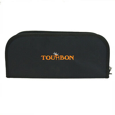 Tourbon Rifle Bolts Carry Case Gun Holster Hunting Ammo Cover Nylon Bag Black