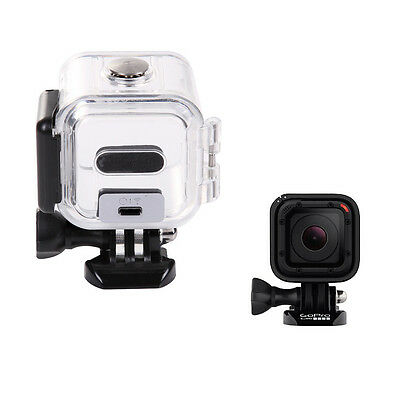 45M Diving Waterproof Protective Housing Case For Gopro Hero 4 session Cameras