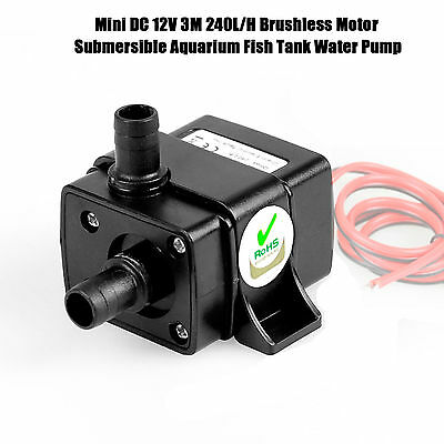 240L/H,12 volt submersible water pump for Garden Small-Pond Aquarium Fish tank