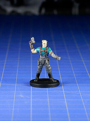 Star Wars miniatures Knights of the old Republic Bao-Dur #02 & card WOTC