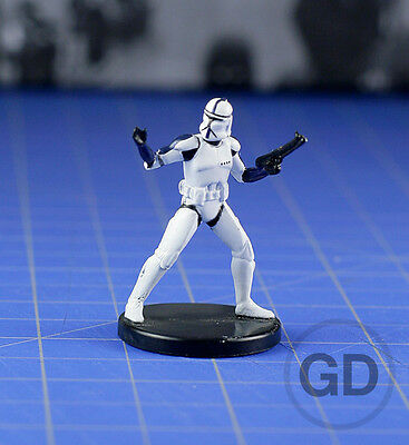 Elite Clone Trooper Commander #10 Clone Wars, CW Star Wars miniature