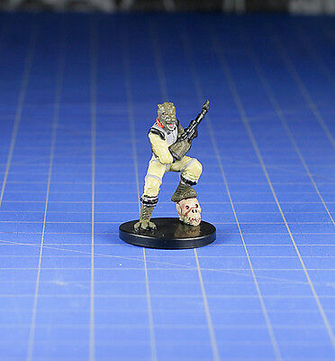 Star Wars miniatures minis Bounty Hunters  Bossk, Bounty Hunter #21 & Card WOTC
