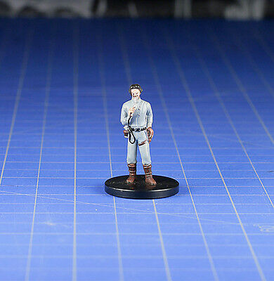 Star Wars miniatures minis Bounty Hunters Dannik Jerriko #25 & Card WOTC
