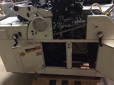 "Multigraphics 1250 RS 2-Color Offset Printing Press 8.5"" X 11"" With T-51 Head"