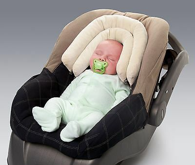 NEW Diono 2-in-1 Baby Infant Stroller Car Seat Head Neck Support Pillow Ivory