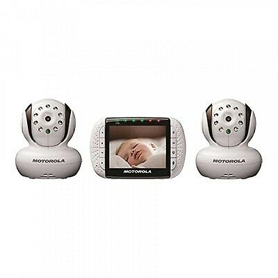 Motorola Remote Wireless Video Baby Monitor with Color LCD Screen (Double)