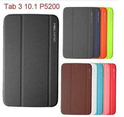 """Magnetic PU Leather BOOK Case Cover For Samsung Galaxy Tab 3 10.1"""" P5200 P5210"""
