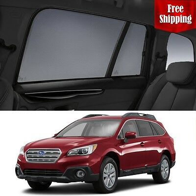SUBARU Outback 5GEN 2014-2018 Magnetic Rear Side Car Window Sun Blind Sun Shade