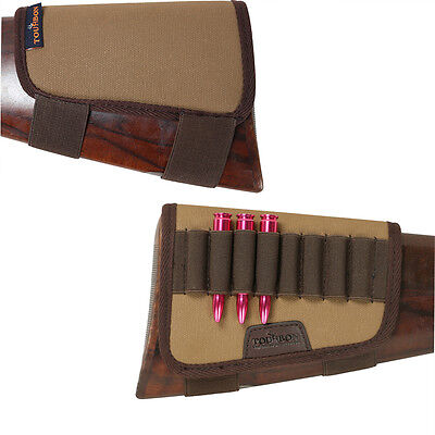 Tourbon Rifle Cartridges Case Shells Holder Buttstock Gun Hunting Tactical in AU