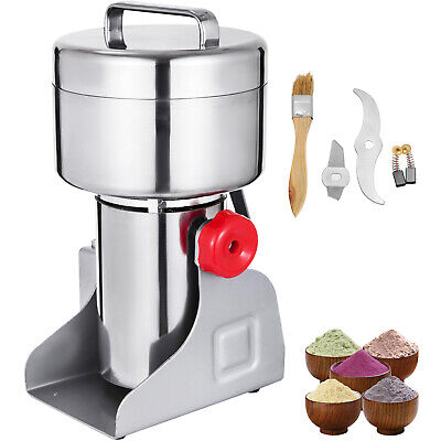 Electric Herb Grain Mill Grinder Wheat Cereal Flour Powder Machine Tool 500g