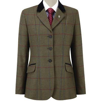 *SALE* Caldene Cheltenham Girls Tweed Show Jacket - 2 Colours