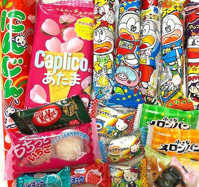 Japanese Cute Sweets Chocolates, Candies, Cookies & Free Japanese Doll Book Mark