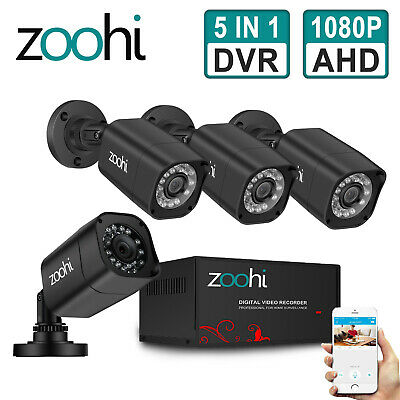 ANRAN 4CH 720P 1.0MP HD CCTV Security IR Camera Wireless System WiFi NVR Kit P2P