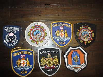 mixed prisons corrective services patches