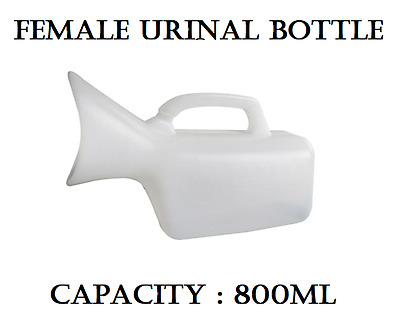 800ml Female Outdoor Urine Urinal Bottle Womens Travel Camping Car Urgent Urine