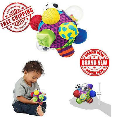 Sassy Developmental Bumpy Ball Baby Infant educational Learning Play Toy Plush