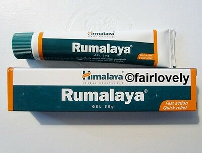 3 TUBES x 30G Himalaya HERBAL Rumalaya Gel Pain Relief *UK SELLER*