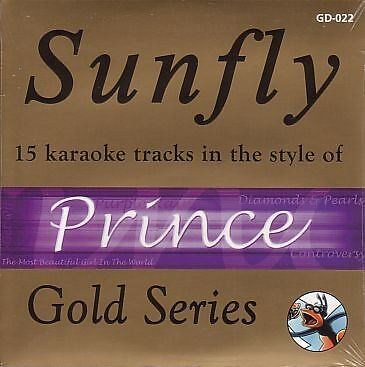 Sunfly Karaoke Gold Series Prince CD+G New Sealed