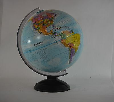 GLOBEMASTER 12 Inch Diameter Globe – Raised Relief VERY NICE!