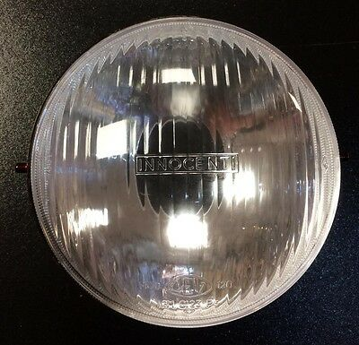 "Head light / front lamp reflector & glass ""Innocenti"" for Lambretta SX by Casa L"
