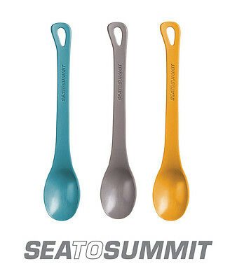 SEA TO SUMMIT DELTA LONG-HANDLED SPOON Lightweight -Pacific Blue, Grey or Orange