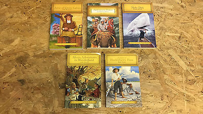 Lot of 5 Junior Classic Children's Chapter Books #534 FREE SHIPPING