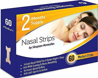 Stop Snoring Nose 60 Strips Cure Durable Comfortable TOP QUALITY Healthy NEW