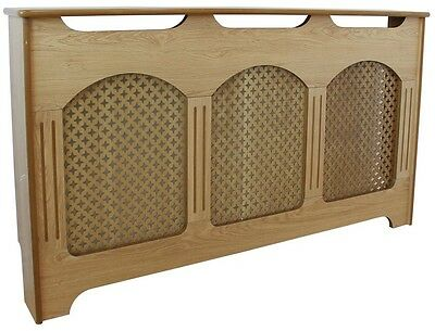 Radiator Cover Home Heating Cabinet Grill Large Radiator Cover - Oak Effect