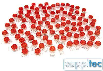 Pack Of 100 8B 3 Wire Bt Virgin Telephone Jelly Crimps Cable Repair Joiner Not3M